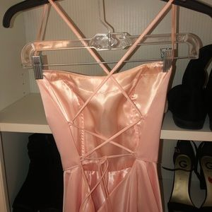 Dave & Johnny Dresses - SUPER CUTE BABY PINK PROM DRESS